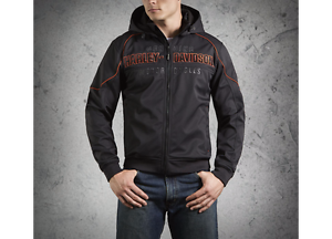 Davidsons Mens Shell Windproof Harley Idyl Giacca Performance Soft af45xq