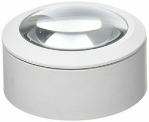 Lightcraft Dome Magnifier LED Lit White LC1875