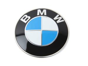 ORIGINAL BMW FRONT HOOD Emblem Roundel Badge Logo 2011+UP 5 6 Series SEE FITMENT