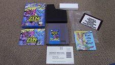 Zen: Intergalactic Ninja Nintendo NES Game Complete CIB WOW!
