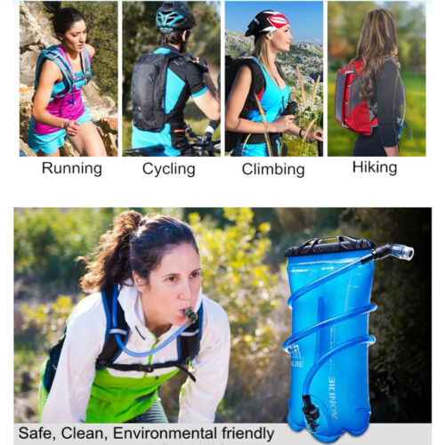 Leakproof Water Bladder Bag Hydration Packs Storage Climbing Cycling