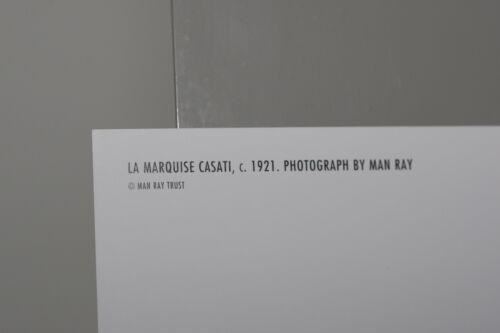 ca Kunst-Postkarte 1921 MAN RAY: LA MARQUISE CASATI