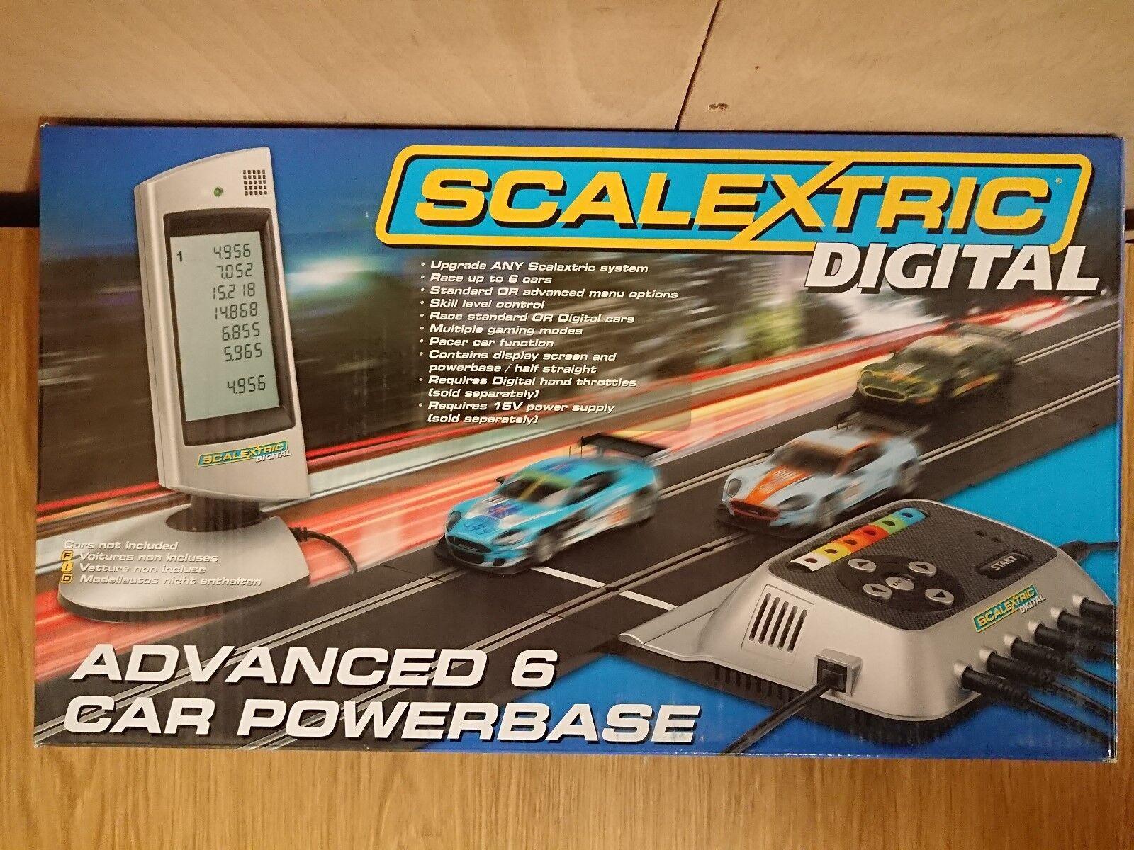Scalextric C7042 Digital Advanced 6 CAR Powerbase NEW