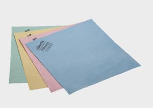 Vileda Pvamicro microfibre mircofasertuch PVA enduit rouge bleu vert jaune