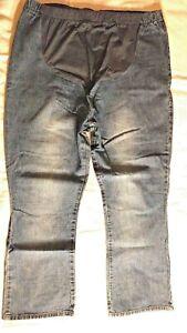 Maternity Jeans Blue Denim Size XL
