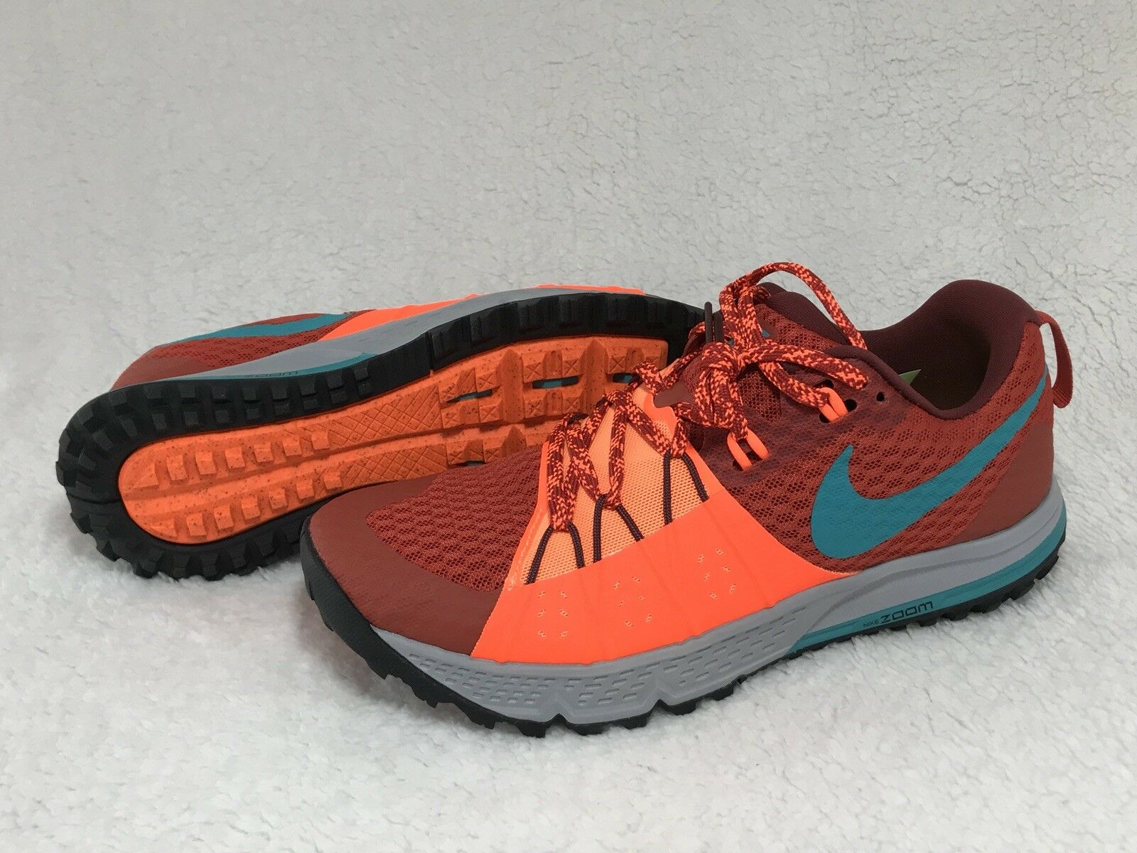 Nike Zoom Wildhorse 4 Trail Running Uomo Size 7.5 New in Box 880565 600
