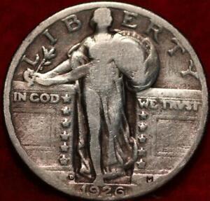 1926-D-Denver-Mint-Silver-Standing-Liberty-Quarter