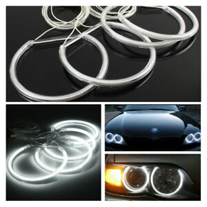 Kit-LED-Angel-Eyes-Halo-Ring-CCFL-Sans-Erreur-Pour-BMW-E36-E38-E39-E46-M3-6500K