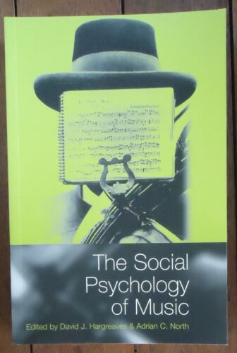 1 of 1 - The Social Psychology of Music David J Hargreaves editor Softcover