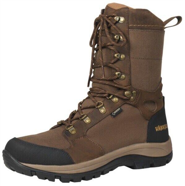 Harkila Woodsman GTX botas Gore-tex Marrón para Hombre Calcetines Tiro Caza + 3 Pares