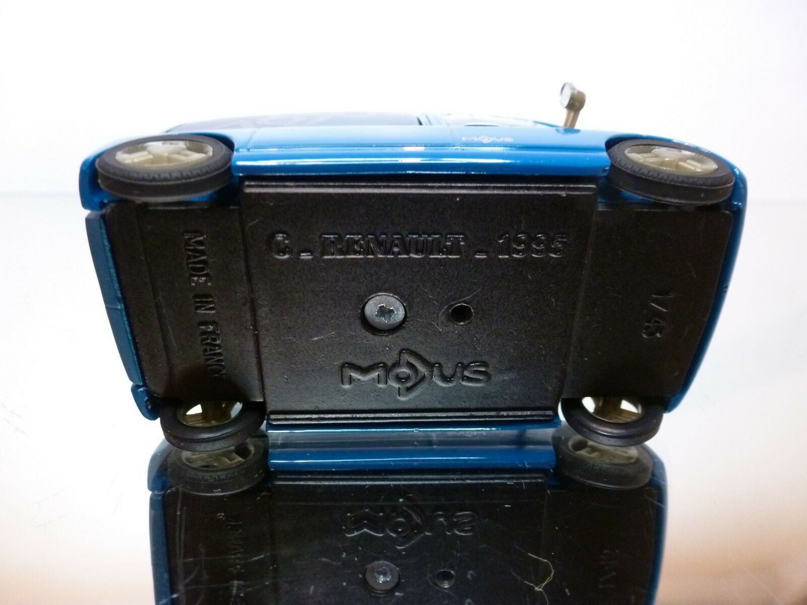 AQUAVIT RESIN C-RENAULT 1995 MODUS - blueE METALLIC METALLIC METALLIC 1 43 - EXCELLENT CONDITION 4 7ba0db