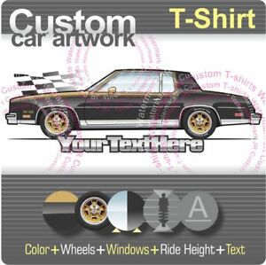 """GMC /"""" Oldsmobile /""""  Personalized Available Ur text T-shirts"""