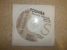Toshiba Television Service Manual CD CDSMSEP02 *FREE SHIPPING*