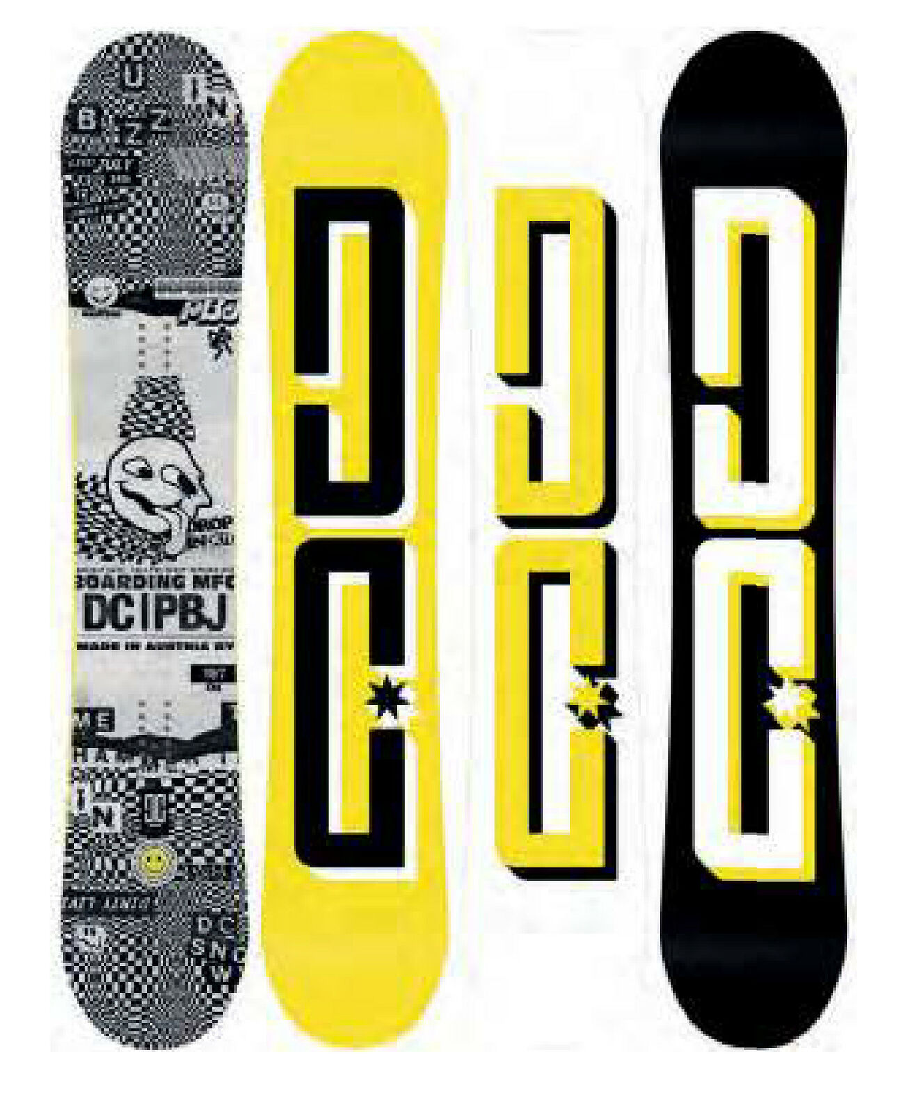 Dc  shoes Pbj 153 2020 Snowboard New Camber  are doing discount activities