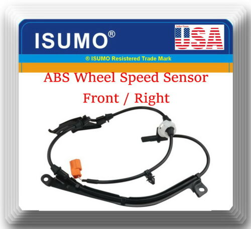 2 Pieces ABS Wheel Speed Sensor Front Left /& Right Fits Fits:Acura TL 2004-2008