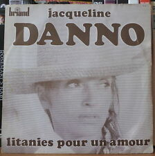 JACQUELINE DANNO /YANKO NILOVIC LITANIES POUR UN AMOUR FRENCH SP BRIAND