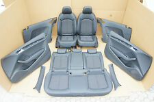 Audi A3 8V Lederausstattung Leder Schwarz Komfortsitze Sitze Seats
