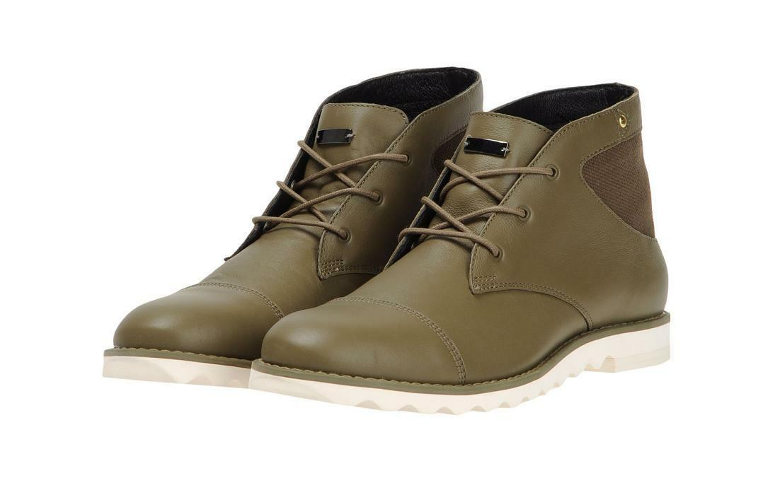 adidas SLVR Desert Lace-Up Herren Leder Hightop Boot Schuhe $ 235 NEU US 9.5 D