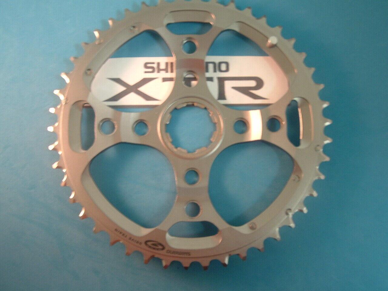 Shiuomoo XTR FCM9524 46T Mountain Bike Bike Bike ParacatenaNuovonuovo Old Stock 112BCD  89  SpeedNuovo in Scatola c52