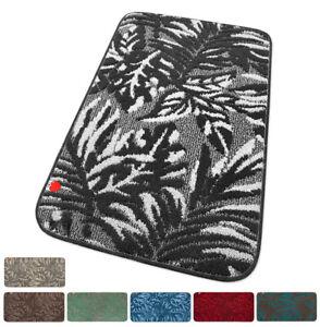 Tappeto-cucina-foglie-tessitura-3D-passatoia-retro-antiscivolo-bagno-mod-ILIZIA