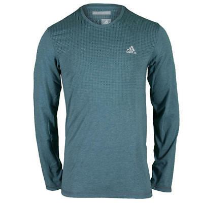Adidas Climacool Longh Sleeve shirt. Blue Adidas shirt