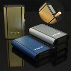 Boîte Etui à Cigares Coffret Boitier Aluminum Porte-cigarettes Rangement