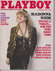 Playboy Magazine September 1985 Madonna Last by RagsAndRockets