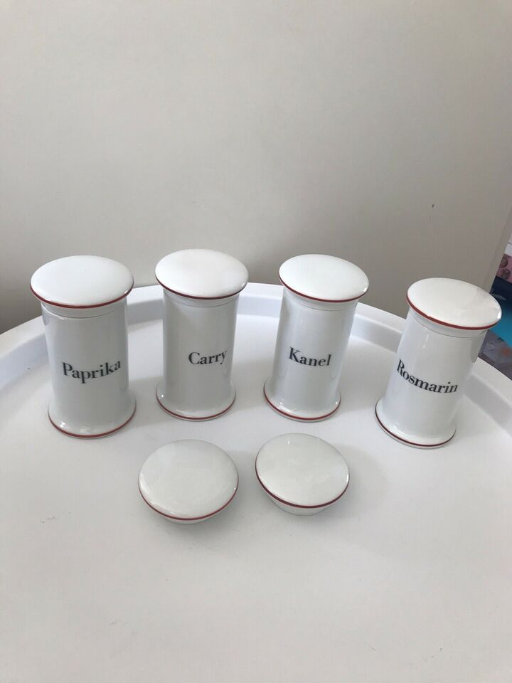 Porcelæn, Krydderikrukke, B&G