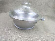 Vintage Guardian Service Pot Glass Lid 3 quart/12 Cups Roaster Stock Dutch Oven