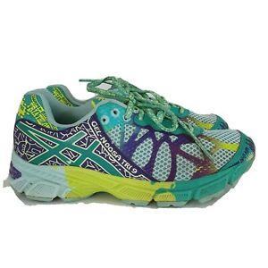 Asics Gel Noosa Tri 9 Running Shoes Size 3 Girls | eBay