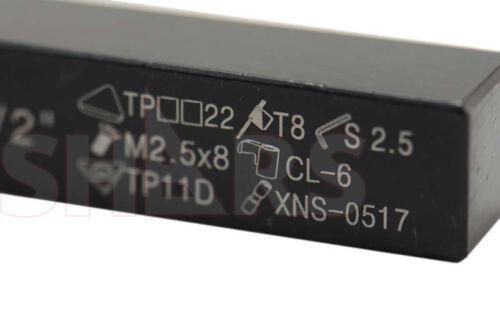 "1//2/"" X 3-1//2/"" RH CTAP INDEXABLE TURNING TOOL HOLDER TPG"
