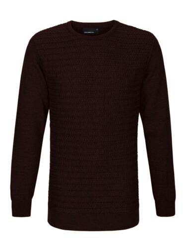 Srp £59 99 Uomo Front Remus Red Cable Xl dark Jumper Clearence 8xzqw0U