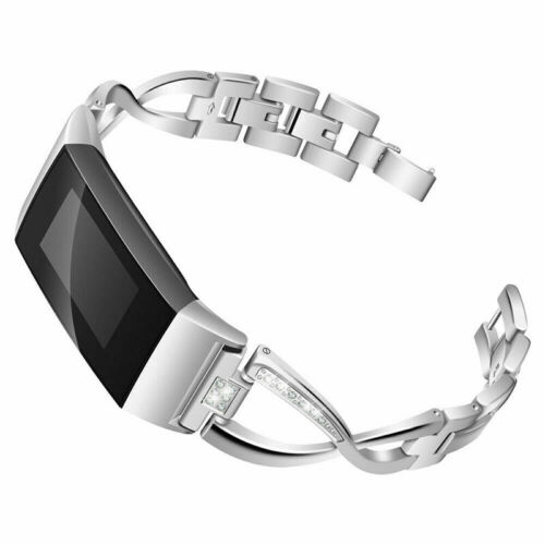 für Fitbit Charge 2 3 Armband Edelstahl Replacement Ersatzband Wrist Strap Hot