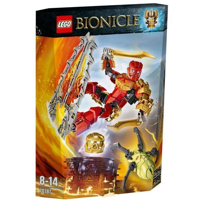 LEGO Bionicle - 70787 - Tahu - Maître du Feu - NEUF
