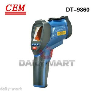 New-CEM-DT-9860-Infrared-Video-Thermometers-with-Color-TFT-LCD-amp-Camera