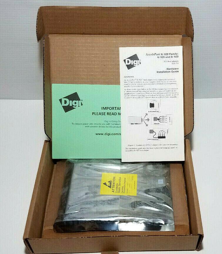 P//N DIGI AccelePort 4r 920-PCI *NEW* 77000560