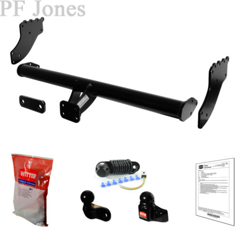 Witter Towbar for Mitsubishi L200 S. Bed // Under-Run 2006-2015 Flange Tow Bar