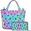 Hot-One-Color-Changes-Geometric-Luminous-Purses-and-Handbags-Holographic-Purse thumbnail 1