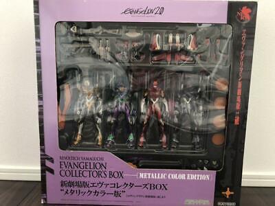 Evangelion Metallic figure New Theatrical Version Collector Box Revoltech toy