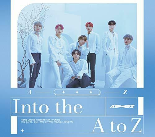 ATEEZ Into the A to Z First Limited Edition CD DVD Card Japan COZP-1737