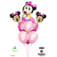 Disney-Minnie-Mouse-Birthday-Balloons-Foil-Latex-Party-Decorations-Gender-Reveal thumbnail 13