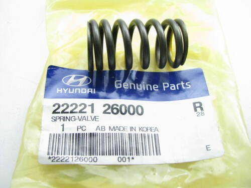 New Genuine Engine Valve Spring For 01-11 Hyundai Accent 1.6L ONLY 2222126000
