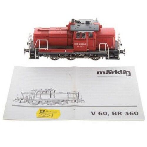 Marklin db - skala v60 br - 360 - diesel