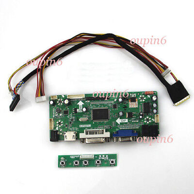 HDMI+DVI+VGA LCD Controller Board Driver for LP173WD1-TLA2 LP173WD1-TLA3 @USA