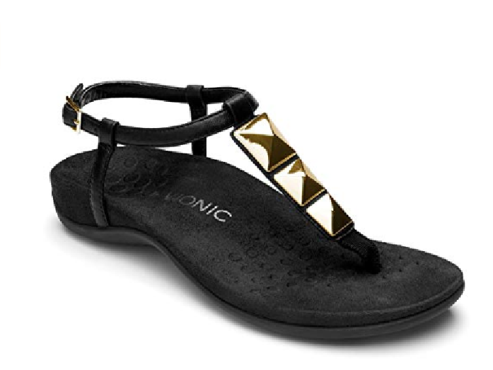 Vionic Women's 340NALA Sandals BLACK BLACK BLACK  Choose Size Free Shipping NIB 270f63