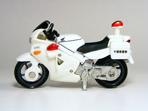 Tomica 1 32 Honda Vfr Police Bike Of Chiba Japan Diecast Models