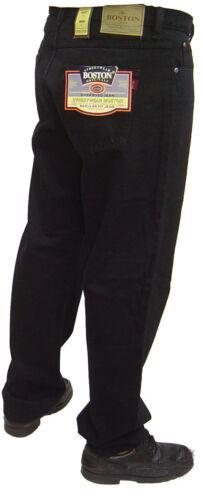 BIG SIZE da Uomo Boston forte lavoro casual grandi Jeans 46 inch Waist FULL FIT NUOVO
