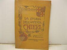 DOLZA Carlo., La storia dell'antica Chieri. Prefazione di Riccardo Ghivarello...