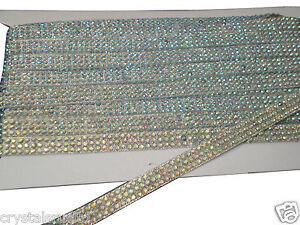 2strip-AB-CLEAR-iron-on-hotfix-REEL-rhinestone-crystal