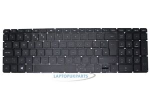 Nuovo-Replacement-For-hp-15-AC088NX-Nero-Layout-UK-Notebook-Tastiera-Inglese